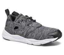 Furylite Jersey Sneaker in schwarz