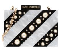Rocky Pearls Minaudière Handtaschen für Taschen in grau