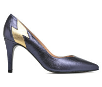 Glossy Cindy #3 Pumps in blau