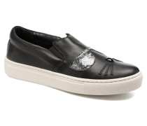 Kupsole Choupette Toe Slip On Sneaker in schwarz