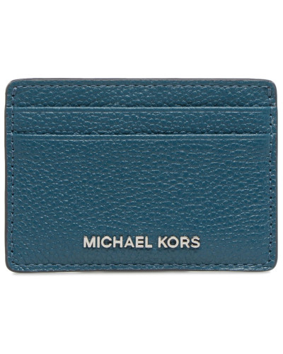Money Pieces Card Holder in blau