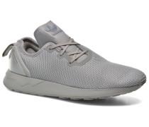 Zx Flux Adv Asym Sneaker in grau