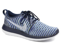 W Roshe Two Flyknit Sneaker in blau