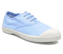 Tennis Lacets E Sneaker in blau