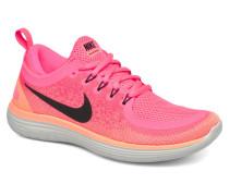 Wmns Free Rn Distance 2 Sportschuhe in rosa