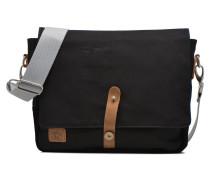 Messenger coton Herrentaschen für Taschen in schwarz