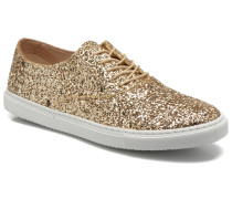 Lou glitter Sneaker in goldinbronze