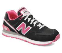 WL574 Sneaker in schwarz