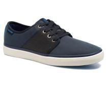 JJ Turbo PU Nylon Sneaker in blau