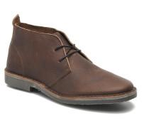JJ Gobi Heavy Leather Desert Boot Prm Schnürschuhe in braun