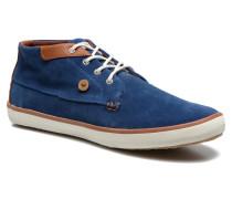 Wattle Suède Sneaker in blau