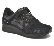 GelLyte III Sequin Sneaker in schwarz