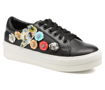 Flower Sneakers Sneaker in schwarz