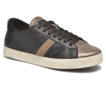 Hill Low Nappa Sneaker in schwarz