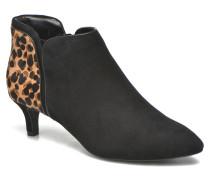 Kalila Piping Bootie Stiefeletten & Boots in schwarz