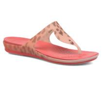 Rio Leopard Fade Flip W Zehensandalen in rosa