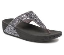 Glitterball Toe Post Clogs & Pantoletten in grau
