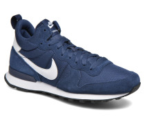 Internationalist Mid Sneaker in blau