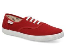 W Sneaker in rot