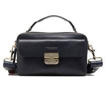 Fashion Hardware Mini Crossover Handtaschen für Taschen in blau
