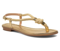 Holly Sandal Sandalen in goldinbronze