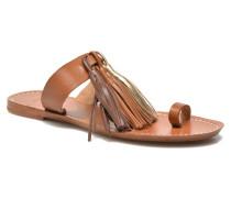 Sandale Pompon Clogs & Pantoletten in braun