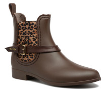 Ocelot Mat Stiefeletten & Boots in braun