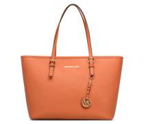 JET SET TRAVEL TZ Tote zippé Handtaschen für Taschen in orange