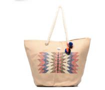 Sun Seeker Tote Handtaschen für Taschen in beige