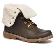 6 In Waterproof Shearling Boot Stiefeletten & Boots in grün