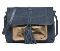 PIXA Suede Crossbody bag Handtaschen für Taschen in blau