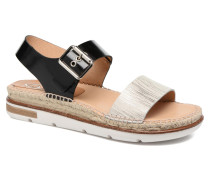 Doha Sandalen in schwarz