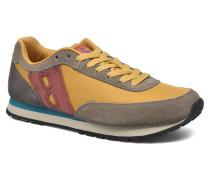 Running Nylon Sneaker in gelb