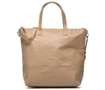 Cabas Zippé Grainé Handtaschen für Taschen in beige