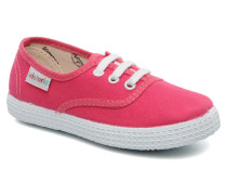 Inglesa Lona Sneaker in rosa