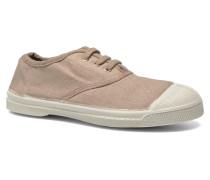Tennis Lacets E Sneaker in beige
