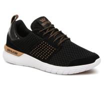 Womens Scissor Sneaker in schwarz