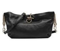 DOMINO Dble porté Handtaschen für Taschen in schwarz