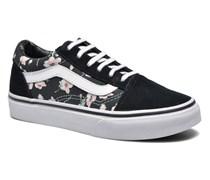 Old Skool E Sneaker in schwarz