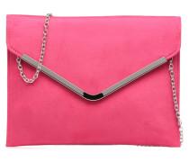 Pochette suédée M Handtaschen für Taschen in rosa
