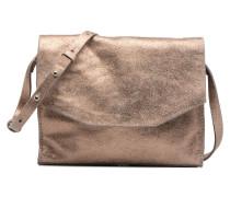 TREEN ISLAND Crossbody cuir Handtaschen für Taschen in goldinbronze