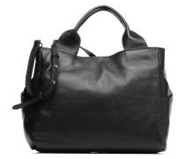TALARA STAR Porté main cuir Handtasche in schwarz