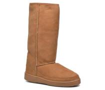Tall Sheepskin Pug Boot H Stiefel in braun