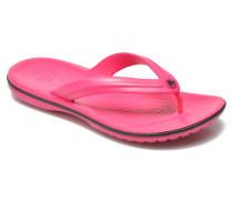 Crocband Flip Zehensandalen in rosa
