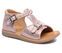 POPPY BUCKLE Sandalen in rosa