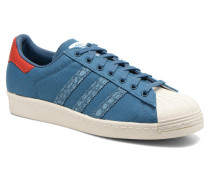 Superstar 80S Animal Sneaker in blau