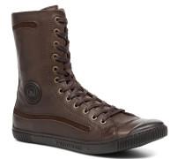 BasicinN Sneaker in braun