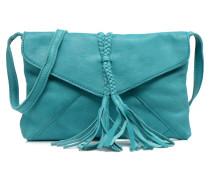 Axelle leather Crossover bag Handtaschen für Taschen in grün