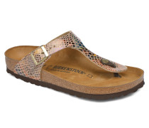 Gizeh W Sandalen in beige