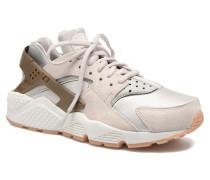 W Air Huarache Run Prm Suede Sneaker in grau